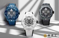 宇舶Big Bang刺青联名计时表以彩色陶瓷诠释立体几何设计